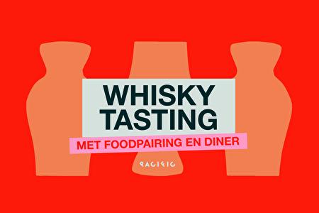 Whisky tasting met foodpairing en diner